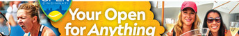 Western & Southern Open outdoor boards