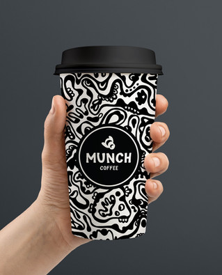 Munch Coffee Cup