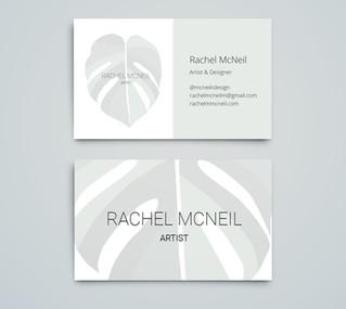 Rachel McNeil Design Business Cards