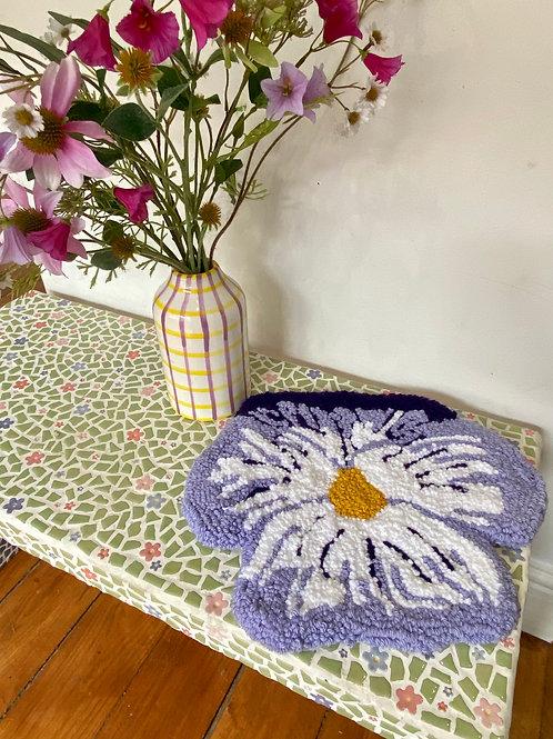 Lavender & White Pansy