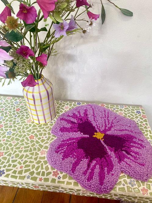 Lilac & Magenta Pansy