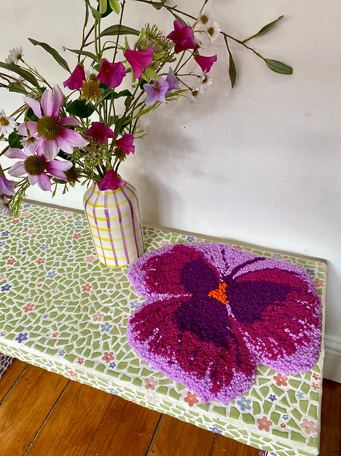 Purple and Lilac Pansy