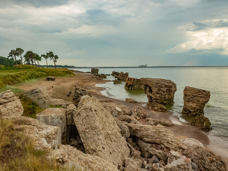 The Lost Island. Liepaja Northern fort (more photos inside).