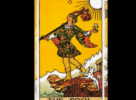 Portfolio Uploads #2: Tarot: The Fool by Inge & Dona - A Tribute to Liz Boyland.