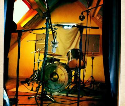 Drum session with Stuart Wilde