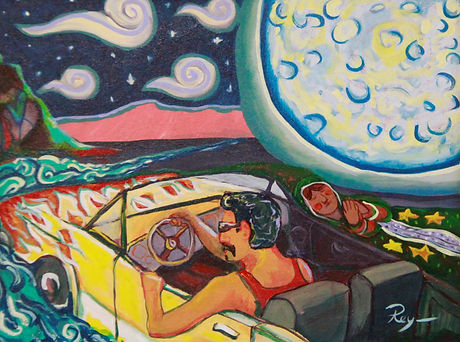 Cruising Meditation, 2015