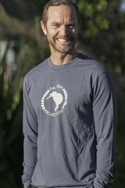 Mens Long Sleeve Tee - Relaxed Fit