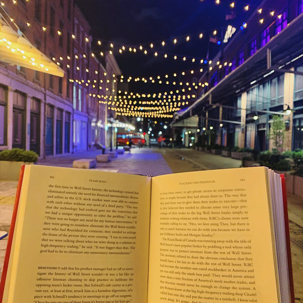 book at night for reading in bed