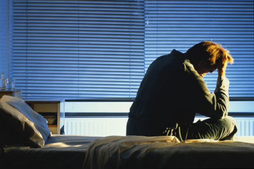 difficulty sleeping at night due to insomnia