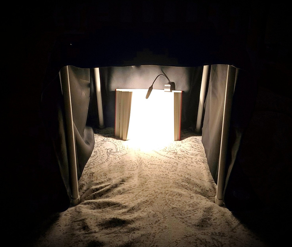 Night Nook for reading in bed at night