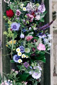 Bloemen op de Tesselse Kamping