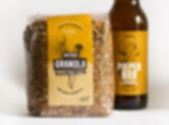 ontwerp verpakking granola instock beer for breakfast taseelman