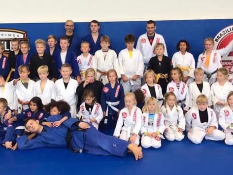 Lyckad träningsdag Judo & BJJ!