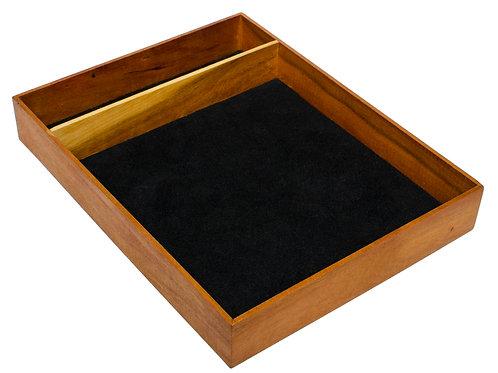 Walnut & Wenge Precisionism Tabletop Tray