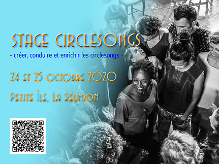 Visuel stage circlesongs Petite Ile oct
