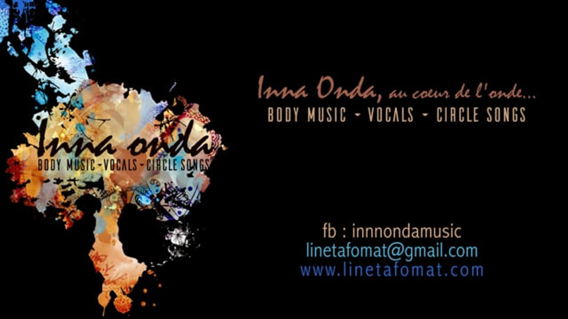 Circlesongs et body music all over the world