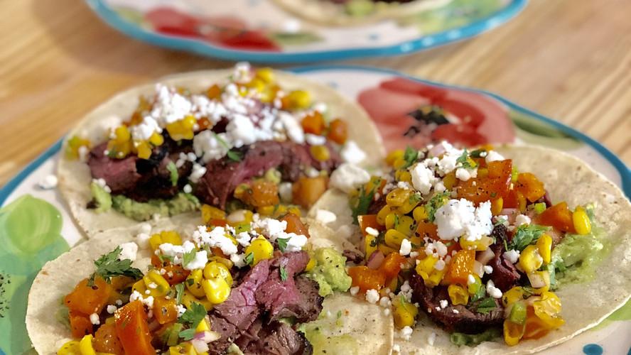 Steak Carnitas Tacos