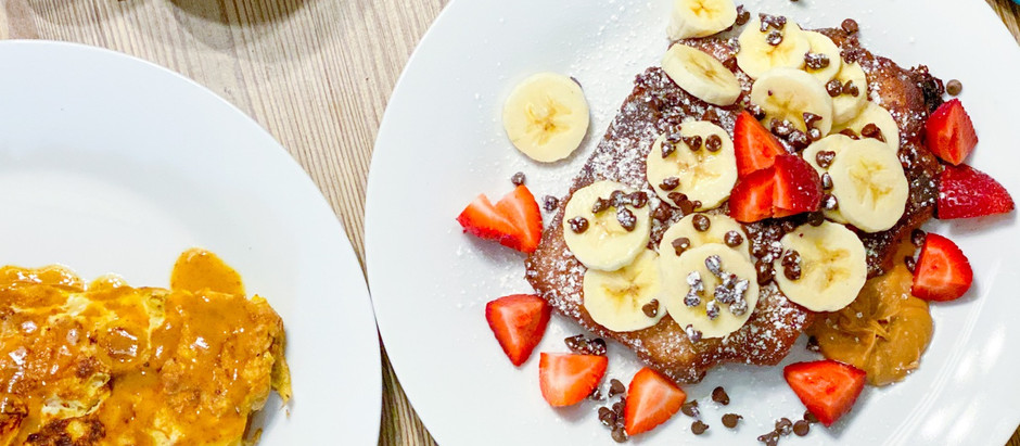 Chocolate Dipped Pound Cake French Toast
