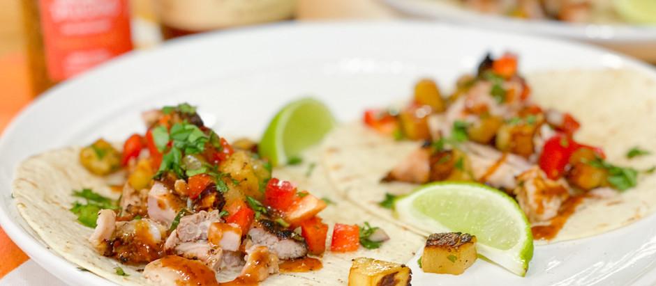 Chicken & Pineapple Tacos