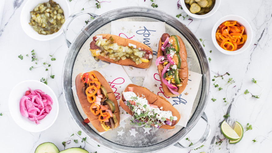 Hot Dogs & Wine? Yes Please...