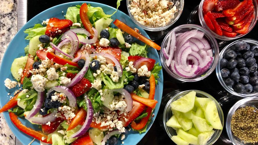Feta Berry Salad