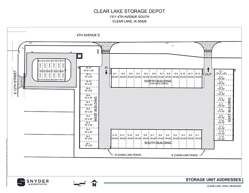 Site Plan 1191051_ClearLakeStorage_UnitA