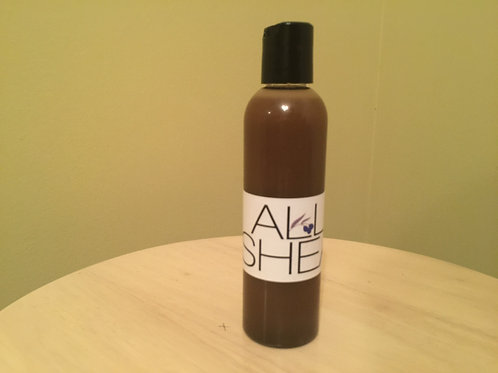 8 oz Liquid Black Soap Body Wash