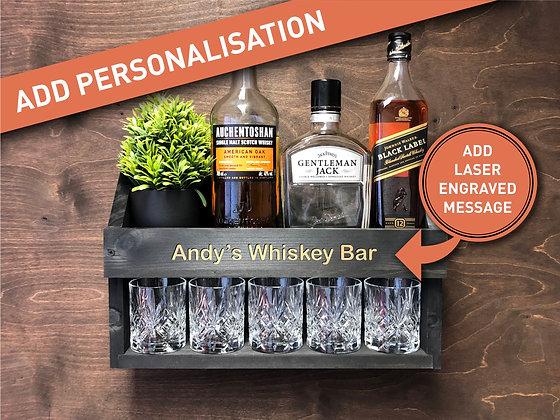 Whiskey Rack - Personalised