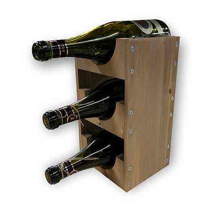 3 Bottle Wine Stacker