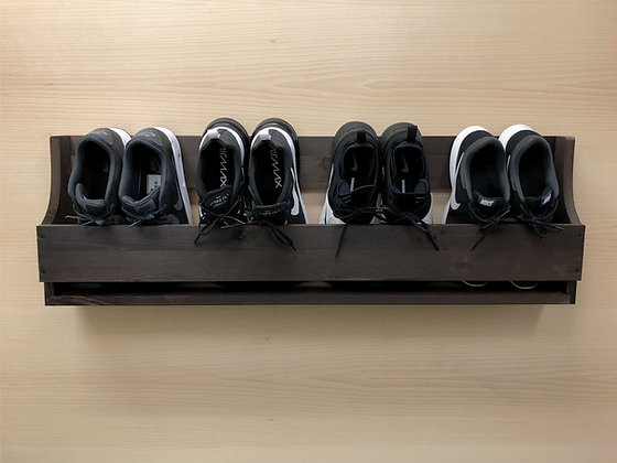 Wall Mounted Shoe Rack - 1000mm