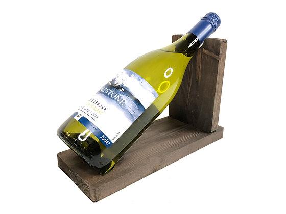 Wooden Single Bottle Raiser