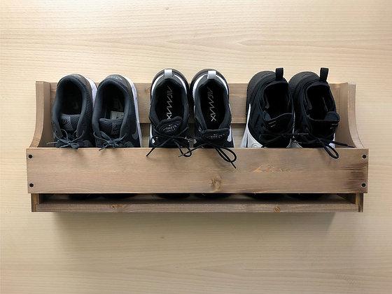 Wall Mounted Shoe Rack - 750mm