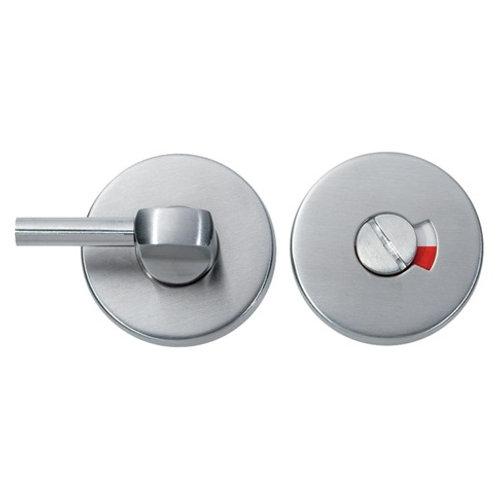 Bathroom lever indicator and turn, Satin Aluminium DFU0313