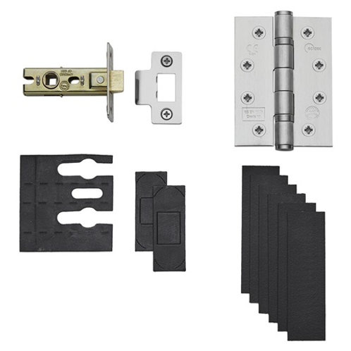 "Fire Rated Domestic Latch Pack 2.5""or 3"""