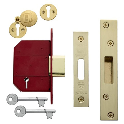 Union Mortice 5 lever deadlock FD30/FD60, Prices from