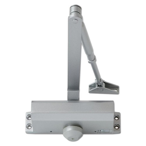 Eclipse Fixed Size 3 Overhead Silver Door Closer DCL0019
