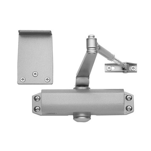 Union CE3F Fixed Size 3 Overhead Silver Door Closer DCL0032