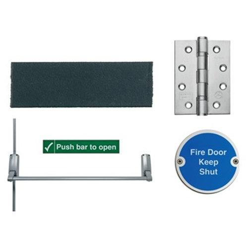 Union Exisafe Rebated Double Door Set FD30/FD60 LAL4090