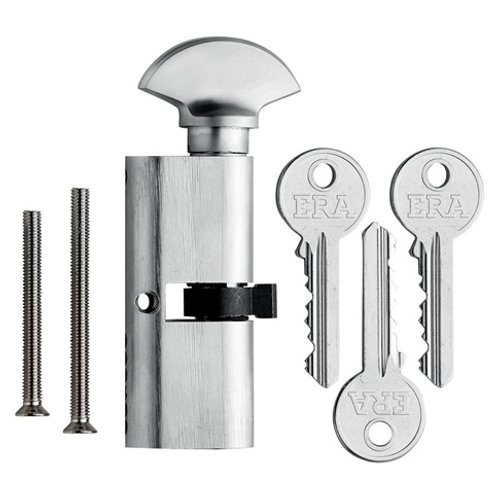 Era Oval Profile Cylinder Lock and Thumbturn LAL0229