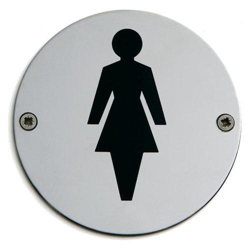 Ladies Door Sign 75mm