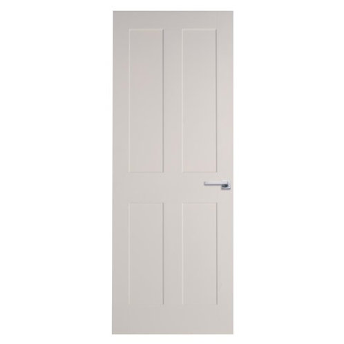 Burford Smooth 4 Panel Moulded Door DIC98/DIC85, Prices from