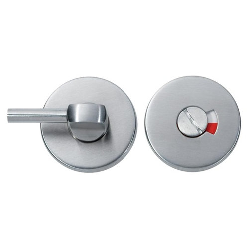 Bathroom Indicator and Turn Lever, Satin Stainless Steel DFU0270