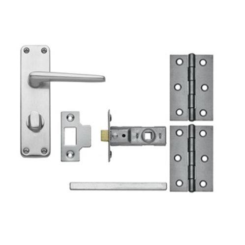 Edinburgh Aluminium Privacy Pack LAL1301