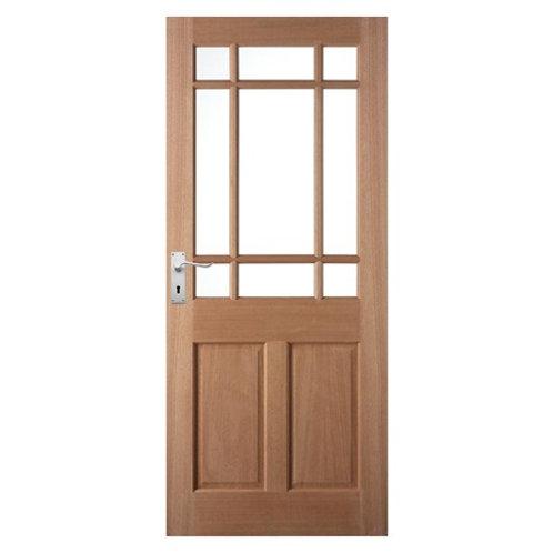 Bosworth Glazed External Door, DXH58