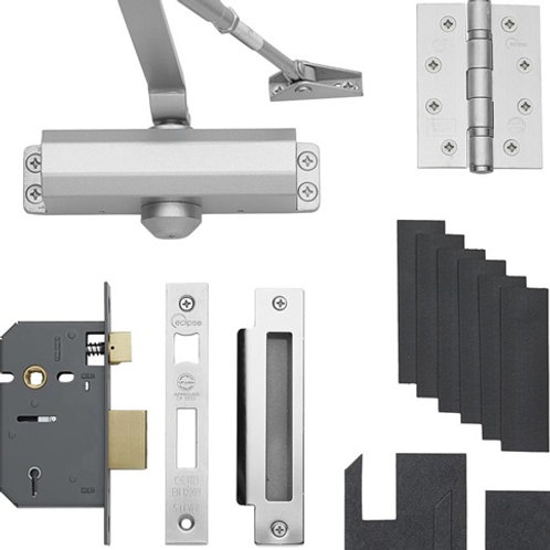 """Domestic Fire-Rated 2.5"""" Lock Pack FRP0300"""