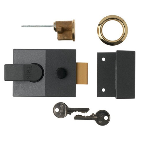 Yale 89 Deadlocking Nightlatch 60mm LAL0505