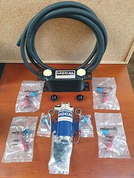 Oil pump & Hduty cooler - 4mtrs Nomex ho