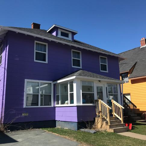Purple Duffus House