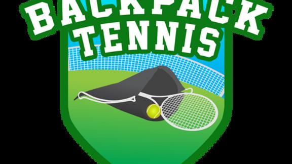 Backpack Tennis Net Set