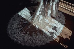 Brautkleid lange Schleppe